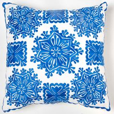 Fab.com | Star Pillow Blue by Moroccan Prestige