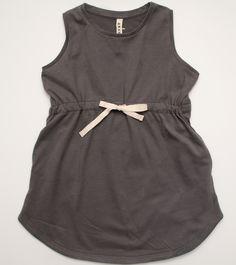 Gray summer dress in organic cotton, by Gray Label at Loja Dada