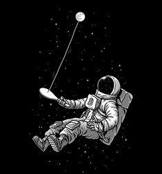 Moon Paddle Ball
