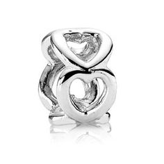 Pandora SS Open Heart Spacer