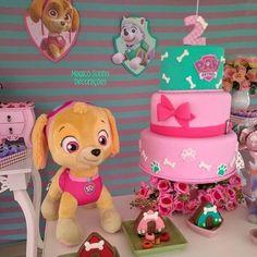 Paw Patrol Birthday Decorations, Paw Patrol Party, 4th Birthday, Princess Peach, Maya, Birthdays, Paw Patrol Decorations, Paw Patrol Birthday, Mermaid Party Decorations