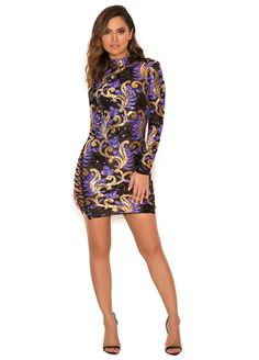 Lace-Up Sides Multi Color Sequin Mini Dress_Club Dress_Clubwear Clothing_Sexy Lingeire | Cheap Plus Size Lingerie At Wholesale Price | Feelovely.com