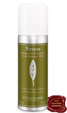 Haircare24.com - L'Occitane | Verbena Fresh Summer Mist, $11.95 (http://www.haircare24.com/loccitane-verbena-fresh-summer-mist/)