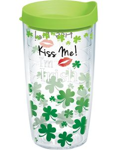 Everybody's Irish, at least on St. Patrick's Day! Pucker up and get ready for a fun day with this Tervis tumbler in hand. $15
