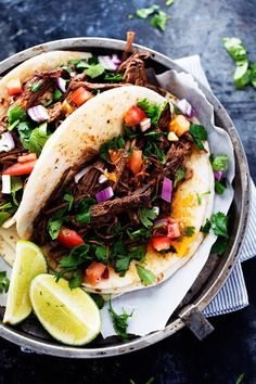 AMAZING and tender beef barbacoa that is better than any restaurant I have had! The flavor is amazing and it ...