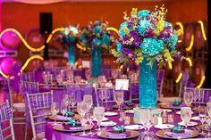 LOVE the arrangement. Not sure about talk vase
