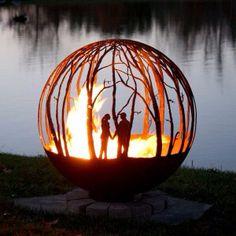Couple Fire Pit