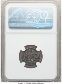 Mexico: Republic 1/8 Real 1824-D VF35 Brown NGC,... Mexico | Lot #63525 | Heritage Auctions World Coins, Mexico, Auction, Brown, Brown Colors
