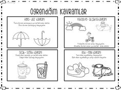 Easy Crafts, Worksheets, Preschool, Bullet Journal, Education, Note Cards, Kid Garden, Literacy Centers, Kindergarten