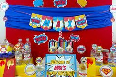 Superhero Birthday Party Ideas | Photo 3 of 12