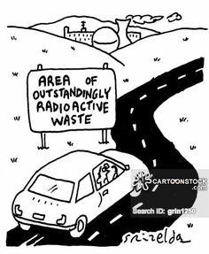 Nuclear Waste Cartoon Nuclear Waste Cartoon 2 of 2
