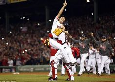 Red Sox make history claiming first World Series title at Fenway Park in 95 years
