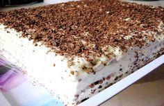 НЕЖНЫЙ ТОРТ БЕЗ ВЫПЕЧКИ  Этот замечательный тортик без выпечки – очень вкусное, нежное и простое в…