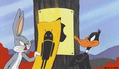 Share this Apple vs Android (Bugs bunny and Daffy duck) Animated GIF with… Freak Flag, Daffy Duck, Classic Cartoons, Bugs Bunny, Looney Tunes, Cartoon Network, Make You Smile, Best Funny Pictures, Animated Gif
