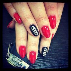 #Audi #manicure