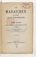 Le Maraîcher du littoral de la Méditerranée, par Rimbaud Benjamin (1866). Ouvrage du domaine public.