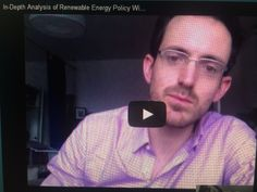 DO NOT MISS Toby D. Couture. For in-depth analysis of Renewable Energy Policy, let's hear from Toby D. Couture (analyst with great insight!)....details in Sun Is The Future at http://www.sunisthefuture.net/2014/05/16