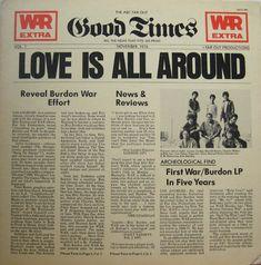 Eric Bordon & War - Love Is All Around