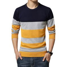 Cheap sweater coat knitting pattern, Buy Quality pullover wool directly from China pullover sweater men Suppliers: Autumn new style Sweater Men Winter fashion spell color round neck Slim pullover men convenient and comfortable pull hom