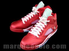 air jordan 5 gs valentine's day. i've never wanted a pair of kicks so badly!!