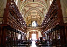 Public Library, Universidad Michoacana de San Nicolás de Hidalgo, Morelia, Mexico.