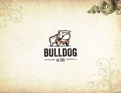 Bulldog logo by ricardo villanueva, via Behance