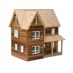 Dolls House Village Church Welsh Chapel 1:12 Scale Flat Pack MDF Wood Kit