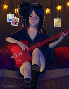 Marceline by cosmogirll Adventure time Art Adventure Time, Adventure Time Wallpaper, Adventure Time Marceline, Adventure Time Vampire, Marshall Lee Adventure Time, Adventure Time Princesses, Adventure Time Characters, Cartoon Shows, Cartoon Art