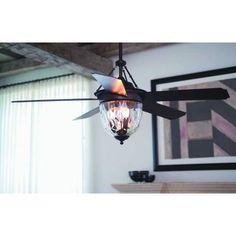 Craftmade Lighting - CAV52LK - Cavalier 52 Inch Ceiling Fan with Light Kit 52 Ceiling Fan, Ceiling Fan Blades, Bronze Ceiling Fan, Outdoor Ceiling Fans, Ceiling Lights, Ceiling Ideas, Commercial Ceiling Fans, Traditional Ceiling Fans, Types Of Ceilings