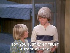 The Brady Bunch - Bobby and Oliver