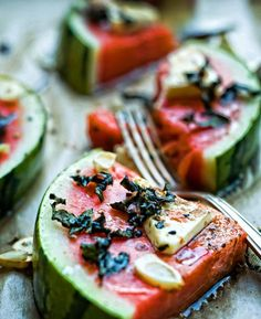 Spicy Watermelon Slices