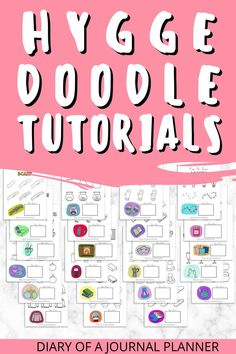 Plan out a cosy bullet journal spread with these cute hygge doodle ideas and tutorials! #hygge #bulletjournaldoodles Bullet Journal Printables, Bullet Journal Spread, Hygge, Doodles, How To Plan, Donut Tower, Doodle, Zentangle