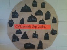 """""""CH"""" activity - make a chocolate chip cookie with """"ch"""" words on chips to fill up the cookie."""