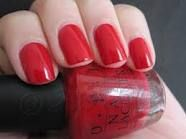 OPI Big Apple Red- my recent purchase, for Valentine's Day Week