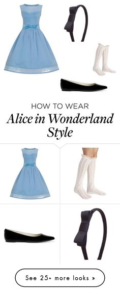 """""""Alice in Wonderland"""" by icetea15 on Polyvore featuring MICHAEL Michael Kors"""