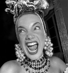 Carmem Miranda Jean Manzon, circa 1940