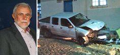 Prefeito de Macajuba é morto a tiros enquanto dirigia