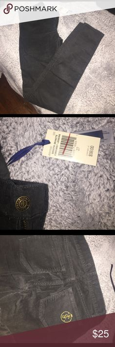 Juicy couture corduroy skinny jeans Brand new black corduroy jeans from juicy couture Juicy Couture Jeans