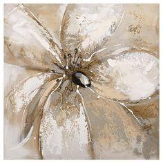 Canvas - Flower Oil Paiting/CANVAS ART/WALL DECOR|Bouclair.com