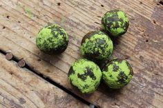 Matcha Green Tea Truffles // Summer Sanders ONLY 5 INGREDIENTS <3 #rawfood #summersanders