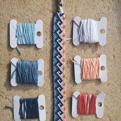 Bff Bracelets, Making Bracelets, Diy Bracelets Easy, Bracelet Knots, Diy Bracelets Patterns, Friendship Bracelet Patterns, Bracelet Designs, Friendship Bracelets, String Crafts