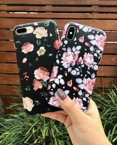 8 Plus or X? Dark Rose & Blush Rose floral Cases for iPhone X, iPhone 8 Plus / 7 Plus & iPhone 8 / 7 from Elemental Cases Iphone 8 Plus, Iphone 7, Coque Iphone, Apple Iphone, Iphone Cases, Girl Phone Cases, Cute Phone Cases, Cell Phone Holder, Mobile Cases