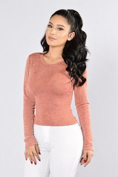 7c5bd012ddae0 Can t Hang Top - Rust. Fashion Nova ...
