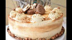 Fun Baking Recipes, Cake Recipes, King Torta, Maxi King, Torte Recepti, Torte Cake, Just Bake, No Bake Cake, Vanilla Cake
