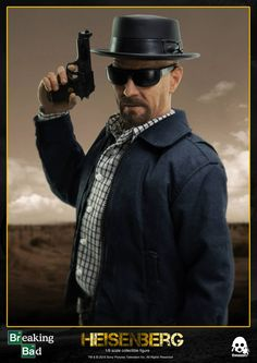 """Breaking Bad Heisenberg is a 12"""" (30.5cm) tall articulated figure. Pre-order opens on February 24th at 09:00AM Hong Kong Time at www.threezerostore.com for 150USD/1160HKD with International shipping included in the price. Full info: https://www.facebook.com/media/set/?set=a.1066616003364227.1073741912.697107020315129&type=1&l=e6d4cce819  #threezero #BreakingBad #Heisenberg #actionfigure #toy #collectible #toys"""