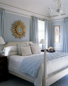 The Glam Pad: A Blue and White Beach House by Phoebe and Jim Howard