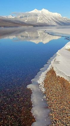 Lake McDonald - Glacier National Park, Montana... This is a beautiful destination.