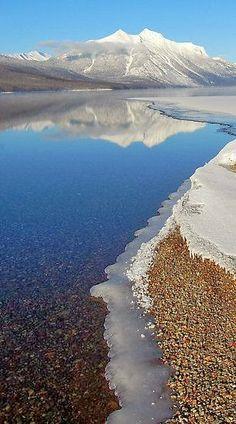 Lake McDonald - Glacier National Park, Montana... This is a beautiful destination.