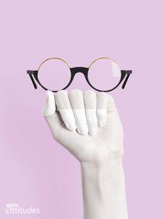 Magazine Lunettes Attitudes Printemps-Été 2018 - EFFETS DE MATIÈRE : le combiné ! Offert chez votre opticien Maurice Frères #eyes #eyewear #fashion #tendances #glasses #lunettes #opticien #optician #optique #magazine #webzine #mauve