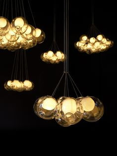 Lamps from Bocci Canadian Design. Product: 28 Rossana Orlandi 28.7 Photo: Leo Torri